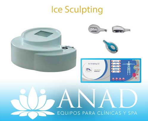 ice-Equipos para spa Anad ICE SCULPTING